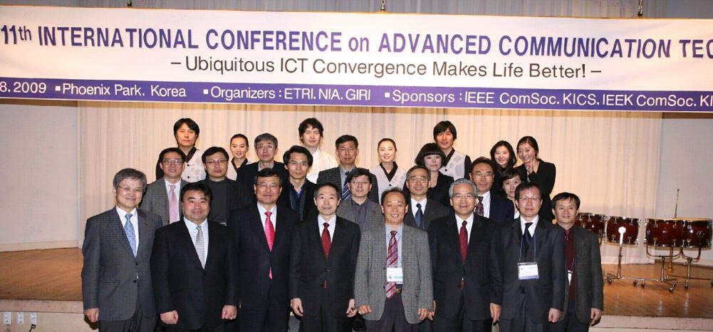 The 9th International Conference on Advanced Communication Technology Institute of Electrical and Electronics Engineers