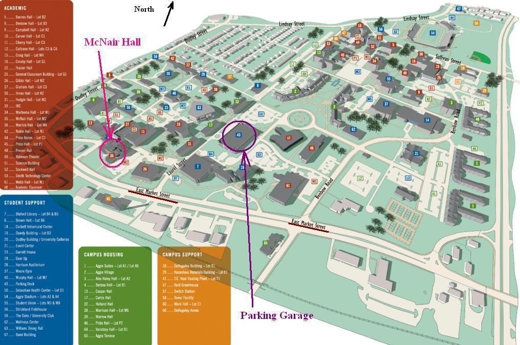 nc a t campus map Ieee Cnc Presentations nc a t campus map