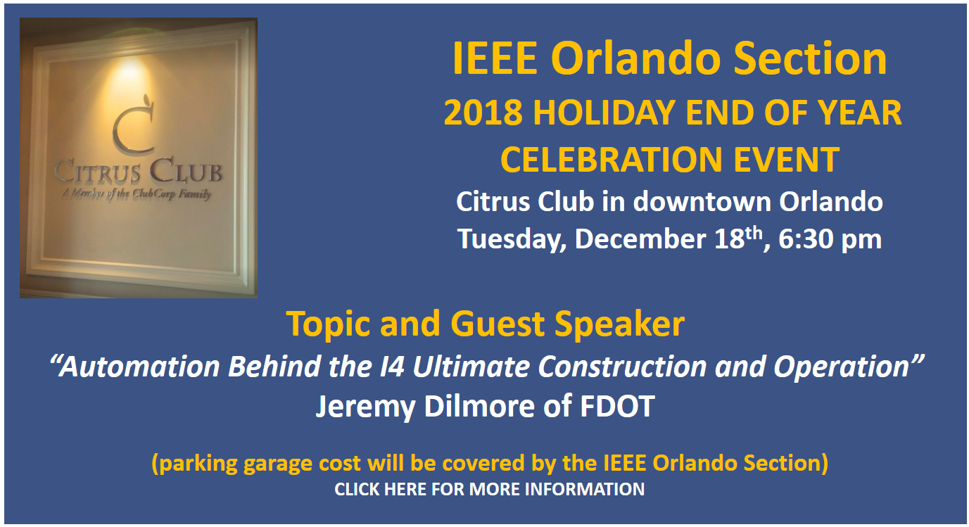 2018 IEEE Orlando Section Annual Election